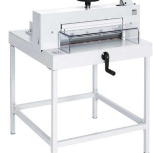 Massicot manuel de haut rendement pour la coupe 47 cm des grands formats jusqu'à 475 mm.